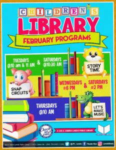Let's Make Music! @ Joe A. Guerra Laredo Public Library - Children's Library