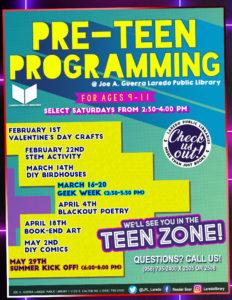 Pre-Teen Programming