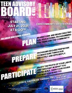 Teen Advisory Board - Official Meeting