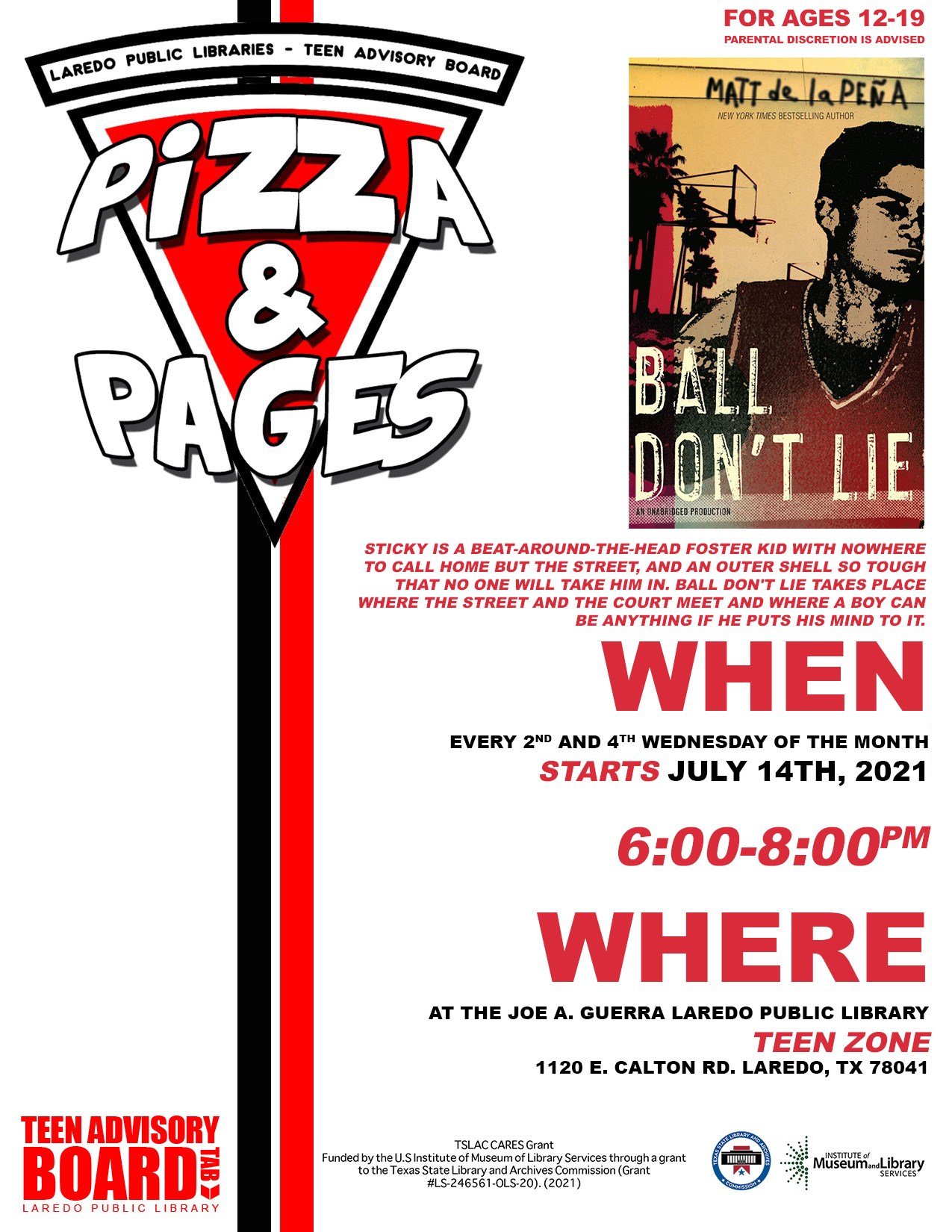 Pizza and Pages - Ball Don't Lie