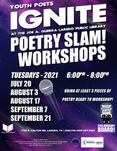 TEENS : Poetry Slam Workshop!