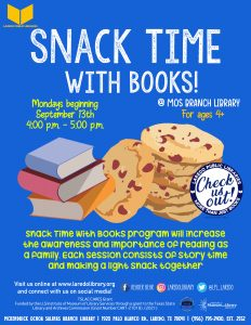 Snack Time with Books!