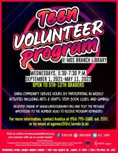 Teen Volunteer Program Meeting