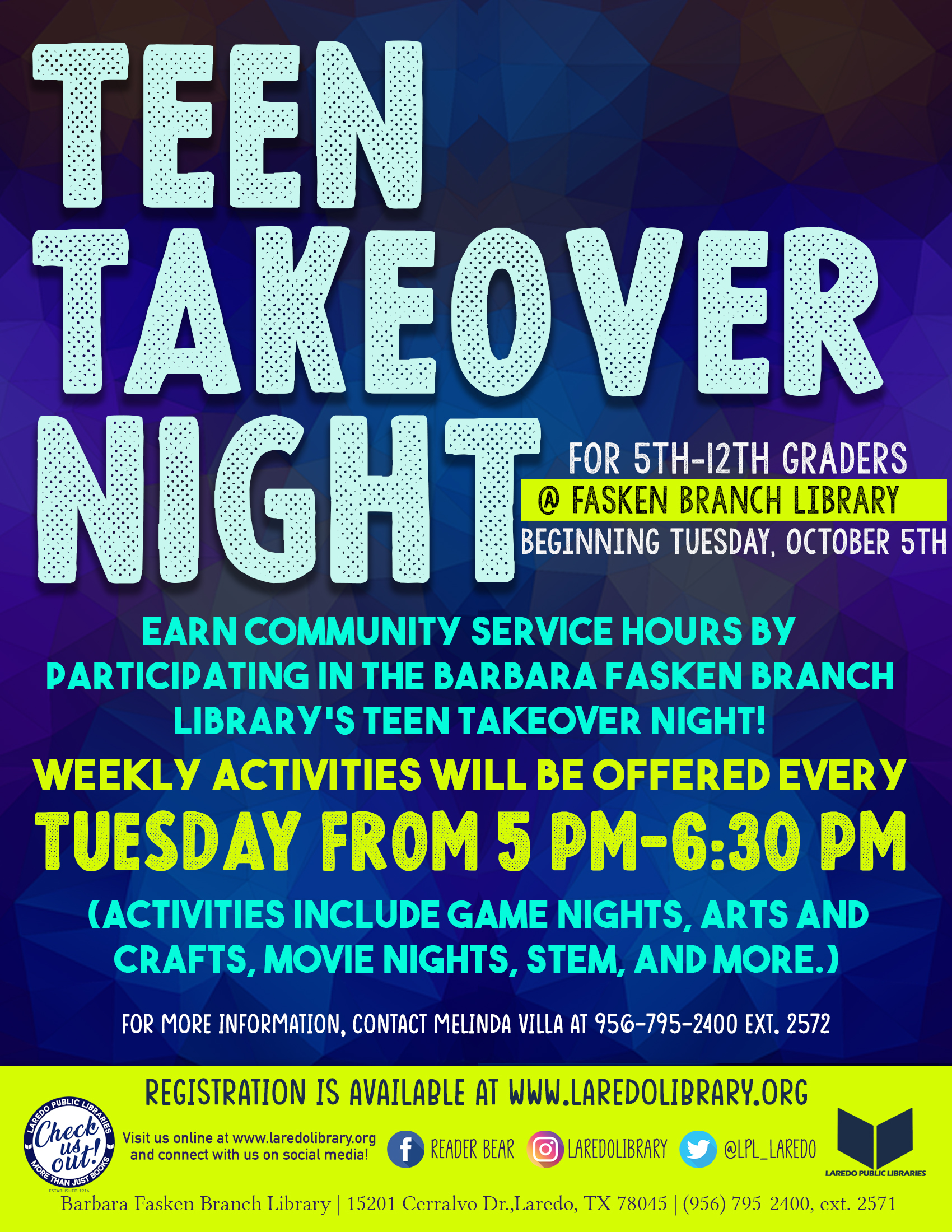 Teen Takeover Night