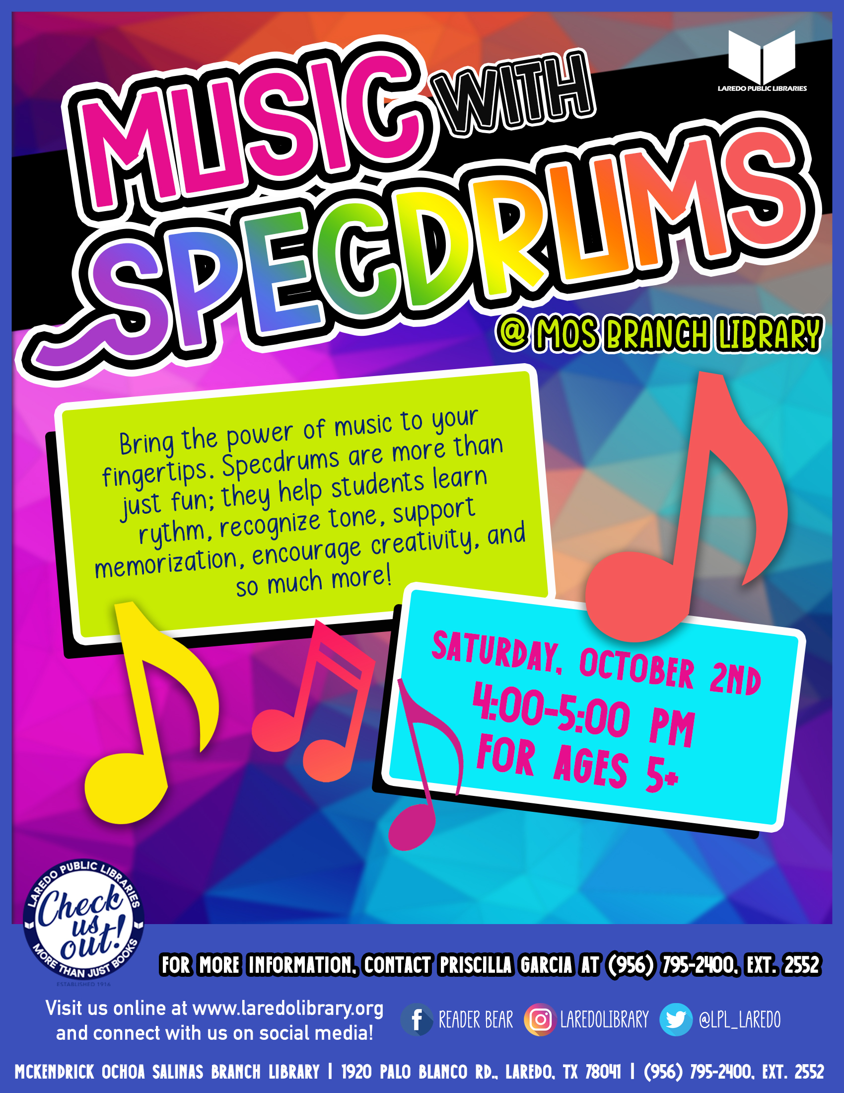 Music with Specdrums
